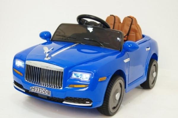 C333CC Детский электромобиль RiverToys Rolls Royce