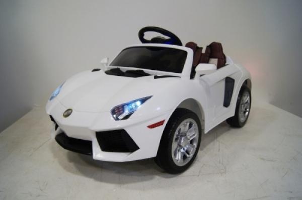 E002EE Детский электромобиль RiverToys Lambo