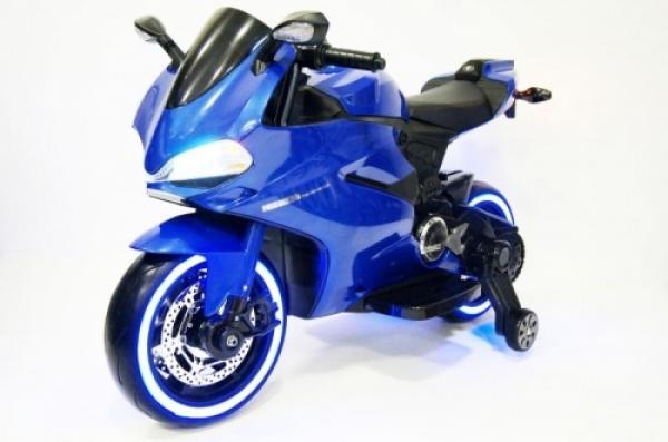 A001AA Детский электромотоцикл RiverToys Moto
