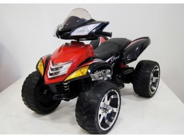 E005KX Детский электроквадроцикл RiverToys (резиновые колеса)