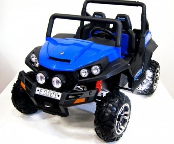 T009TT Детский электромобиль RiverToys Buggy. Двухместный