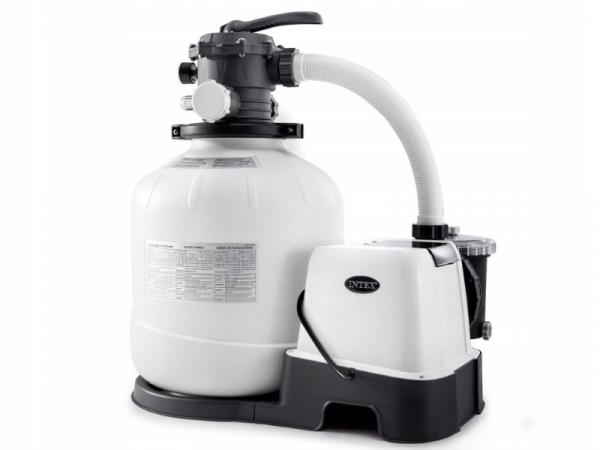 26644/28644 Песочный фильтр-насос 220В д/басс. до 20м3, 4м3/ч, резервуар д/песка 12кг, уп.1 NEW
