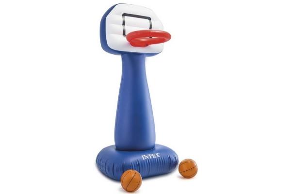 57502 Надувная стойка с корзиной для игры в баскетбол, 104x97x208см