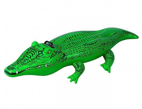"""58546 Надувная игрушка-наездник 168х86см """"Крокодил"""" от 3 лет"""