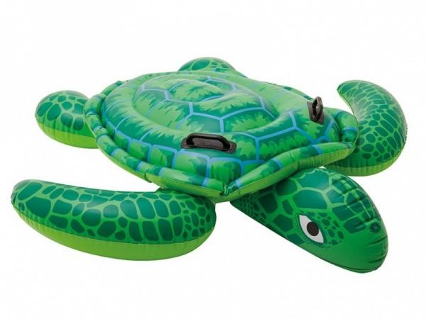 """57524 Надувная игрушка-наездник 150х127см """"Морская черепаха Лил"""" от 3 лет"""