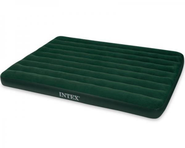 66969 Надувной матрас Prestige Downy Bed, 152х203х22см, насос на батарейках
