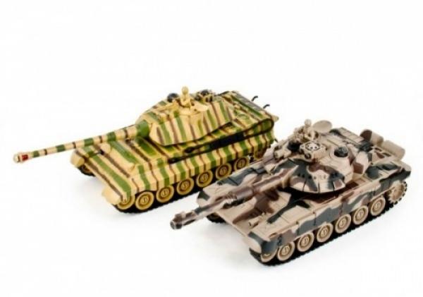 ZEG-99821 Танковый бой Русский Т90 и Немецкий KING TIGER