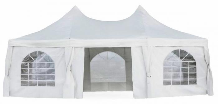 Тент шатер 30м2| код (1052) 2,5x2,5x2,5x2,5x3,4 м