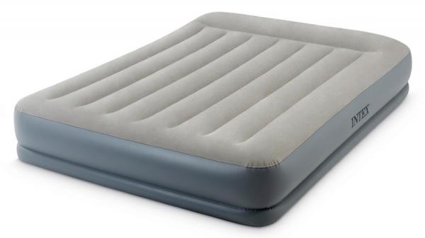 64118 Кровать надувная Mid-Rice Airbed 152х203х30см насос 220В