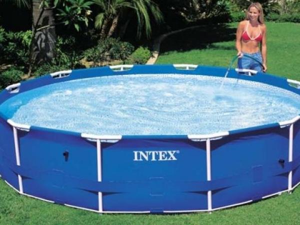Сборный (каркасный) бассейн 366х76 см с фильтр-насосом, 28212 (INTEX)