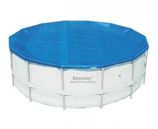 58249 BW, BestWay, Тент для каркасных бассейнов 488 см (d 490 см)