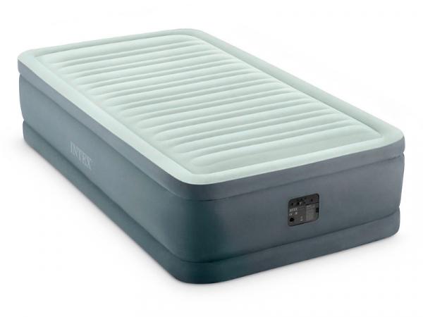 64902 Кровать надувная 99*191*46см насос 220В