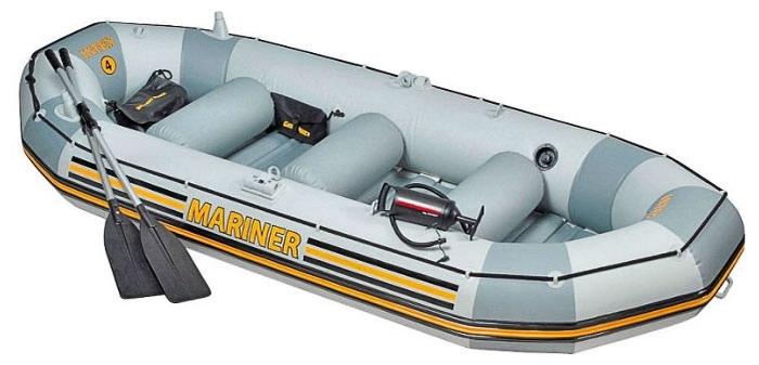 68376 Лодка Mariner-4 Set (до 400 кг) 328х145х48см