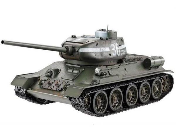 TG3909-1G Радиоуправляемый танк Taigen Russia T34-85 Green Edition 2.4G