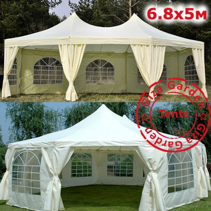 Восьмиугольный шатер 5Х6.8 м Giza Garden
