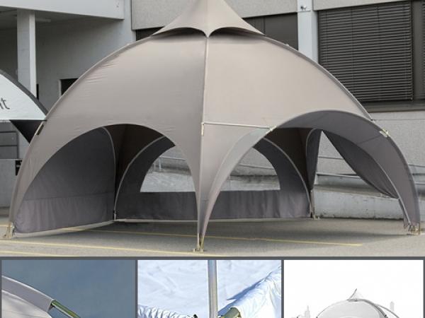 Dome шатер со стенками 6 м, бежевый
