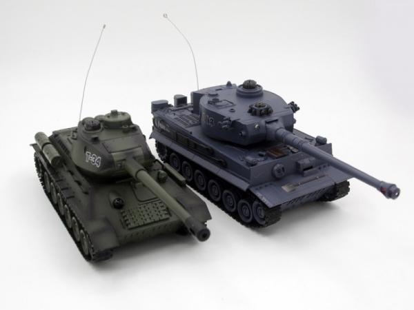 ZEG-99824 Танковый бой Русский Т34 и Немецкий Tiger Zegan