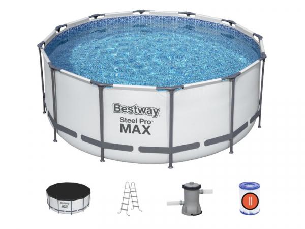 56420/56088 BW Каркасный бассейн, 366х122 см в комплекте 3 аксессуара
