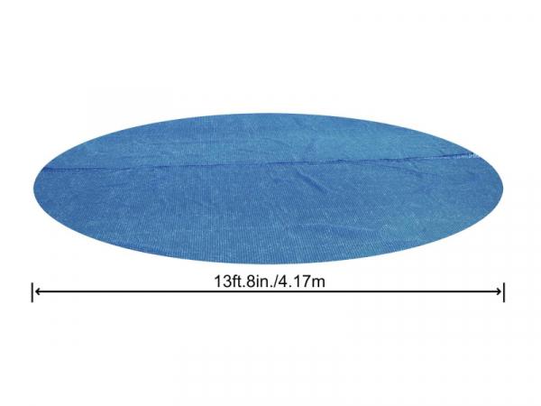 58252 Солнечный тент для каркасного бассейна 427 см с обогревающим эффектом