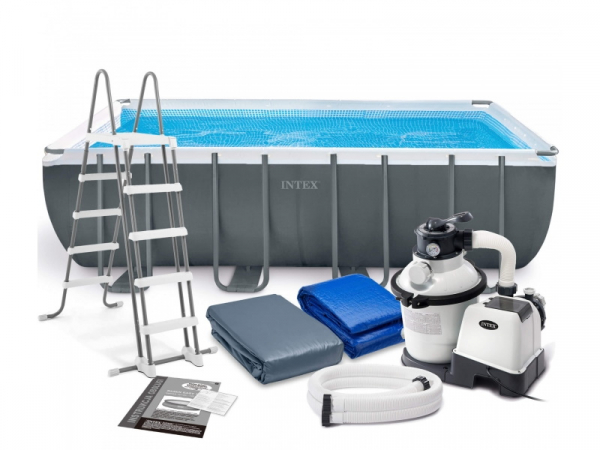26356/28352 Каркасный бассейн Ultra-Frame Metal Pool 549x274x132 см полный комплект