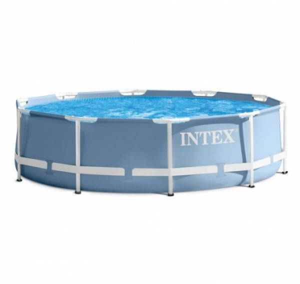 28700 Бассейн каркасный Intex Prism Frame Pool, 305х76 см