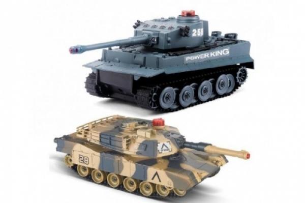 508C Радиоуправляемый танковый бой Huan QI Tiger vs Leopard