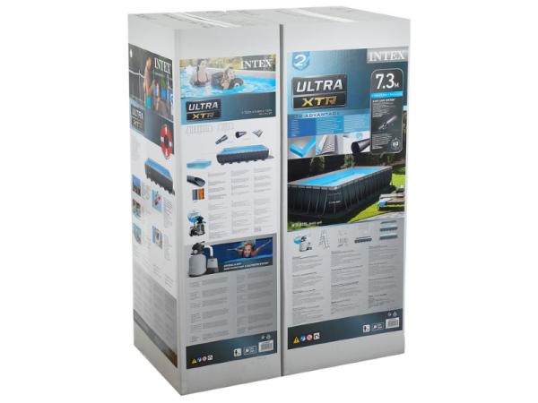 26364 Бассейн 732*366*132см каркасный Ultra XTR Frame + 5 аксессуаров