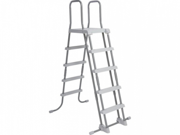 28077 Лестница для бассейнов с площадкой до 132см