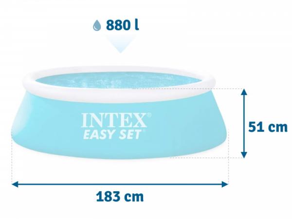28101 Бассейн надувной Easy Set 1,83*51 см