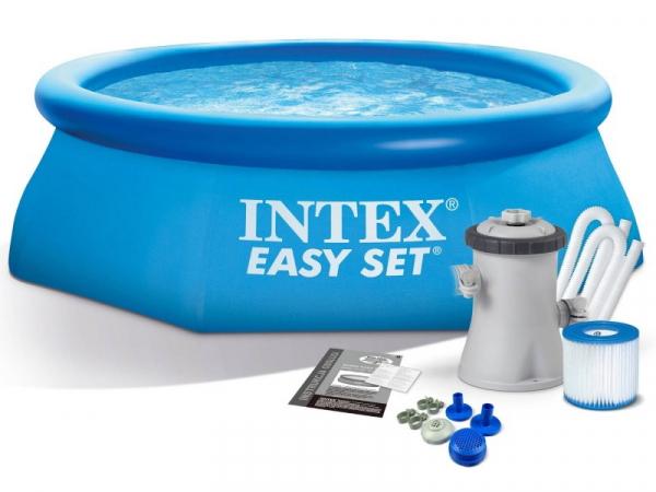 28108 Бассейн Easy Set 244x61 см с фильтром-насосом
