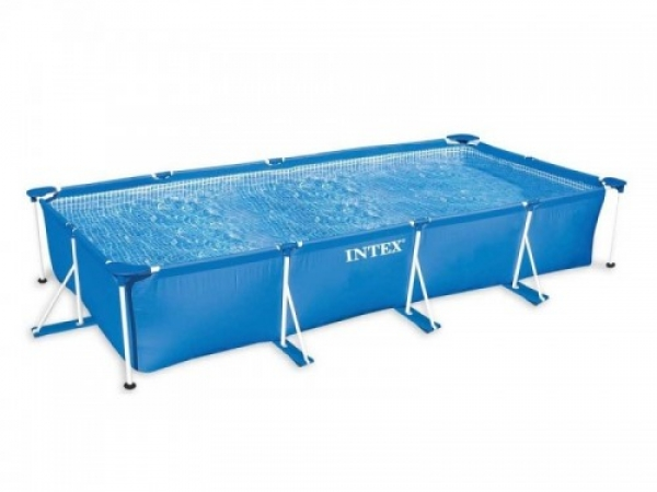 28273 Прямоугольный каркасный бассейн, 450х220х84 см INTEX
