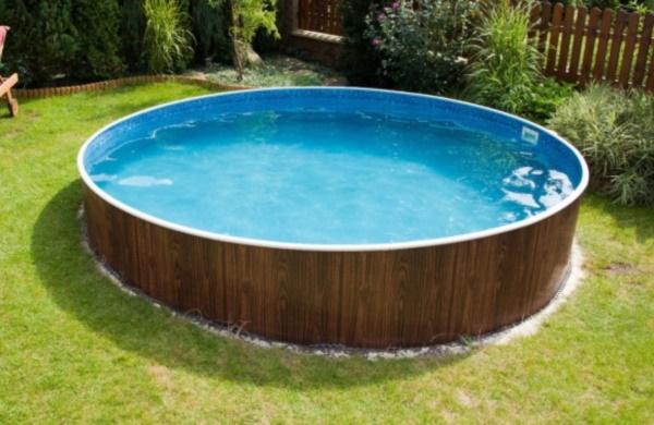 Стальной бассейн 640*125 см