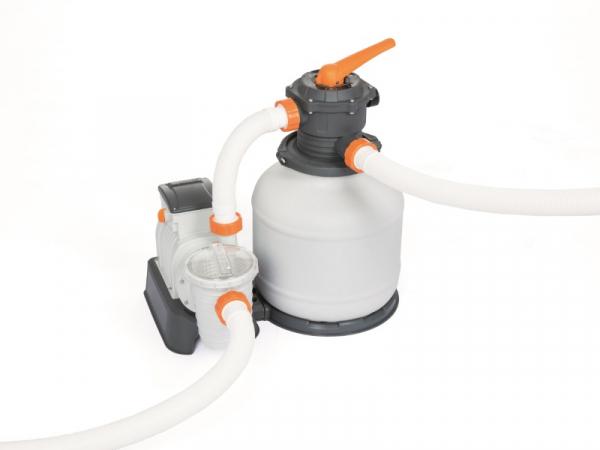 58499 Насос-фильтр песочный для бассейнов 8327л/ч