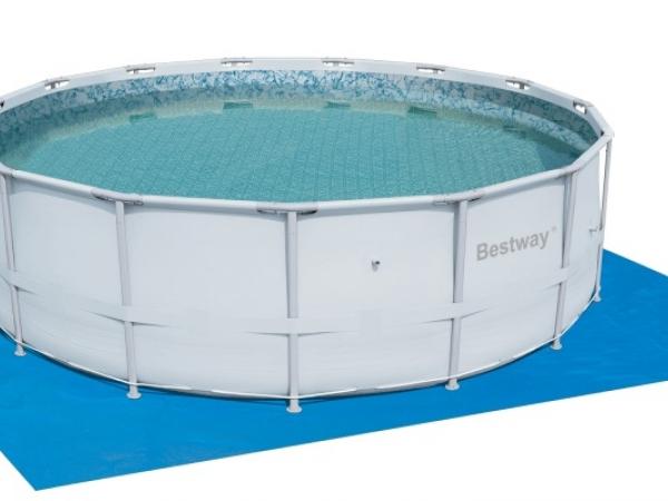 58031 Ковер для надувных и каркасных бассейнов 579*579см Bestway