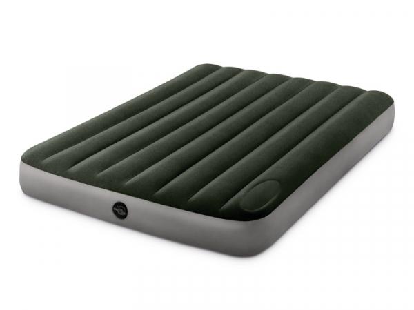 64762/66928 Надувной матрас Downy Bed, 137х191х25см, со встроенным ножным насосом