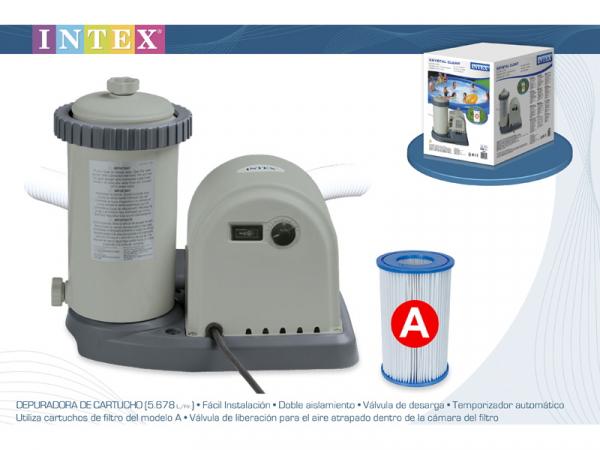Насос для фильтрации воды 5678 литров в час. Intex-28636