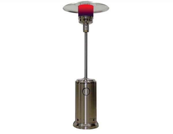 Уличный газовый обогреватель AESTO A02 из нержавеющей стали