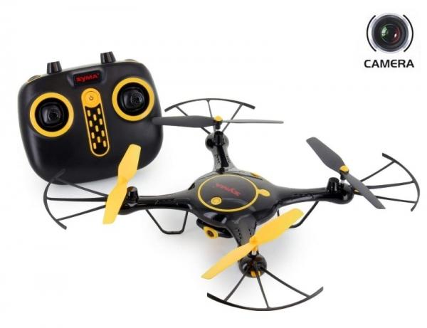X5UW-Black Квадрокоптер Syma с FPV камерой