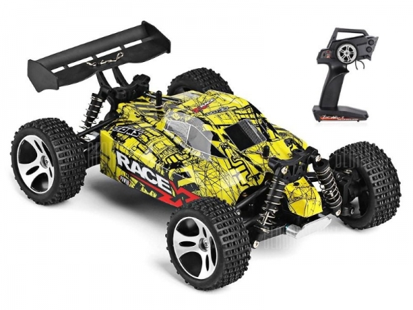Радиоуправляемый монстр WL Toys 18401 4WD RTR масштаб 1:18 2.4G