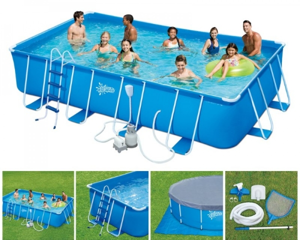 P20-2052-S Каркасный бассейн SUMMER ESCAPES 549*274*132 см, полный комплект