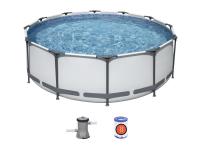 56260 Каркасный бассейн BestWay SteelPro 366x100 см, с фильтр-насосом (Bestway)